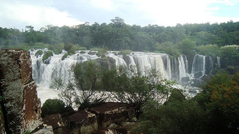 Salto do Rio Caveiras em Lages SC